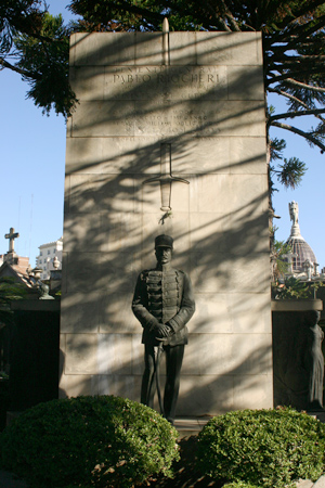 Pablo Riccheri, Recoleta Cemetery