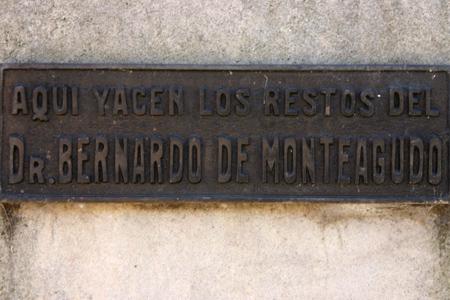 Bernardo de Monteagudo, Recoleta Cemetery