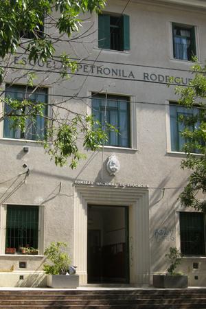 Escuela Petronila Rodríguez, Parque Chas