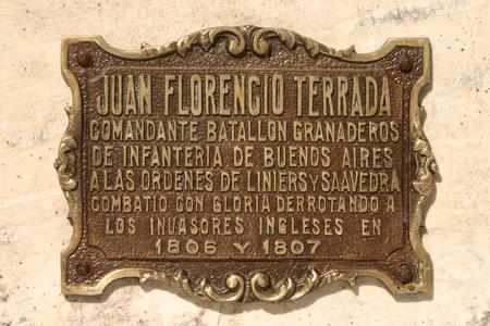Juan Florencio Terrada, Recoleta Cemetery