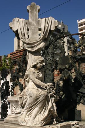 Roque Sáenz Peña, Recoleta Cemetery