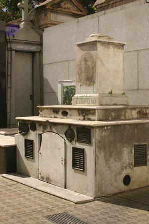 Nicolás Rodríguez Peña, Recoleta Cemetery