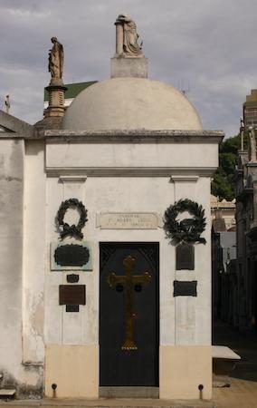 Buenos Aires, Recoleta Cemetery, General Hilario Lagos