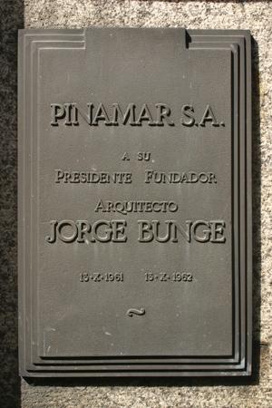 Jorge Bunge, Recoleta Cemetery