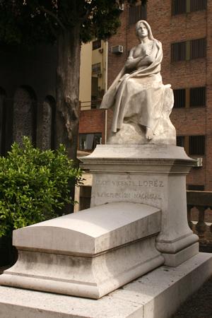 Buenos Aires, Recoleta Cemetery, Lucio Vicente López