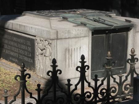Recoleta Cemetery, Buenos Aires, Aramburu