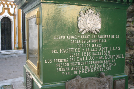 Guillermo Brown, Recoleta Cemetery