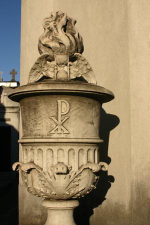 Symbol cluster, Recoleta Cemetery