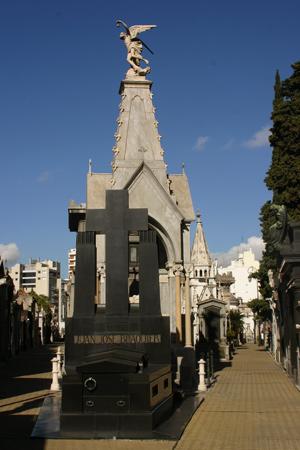 NW corner, Recoleta Cemetery