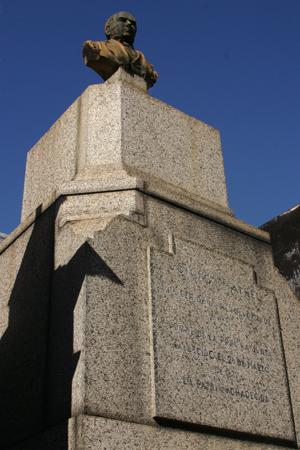 Domingo Matheu, Recoleta Cemetery