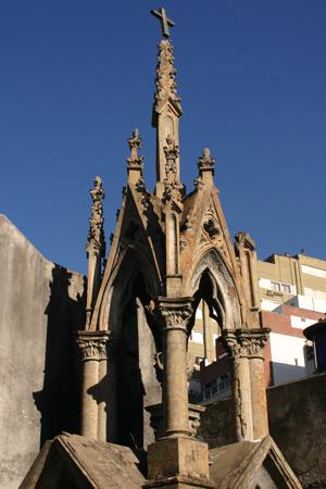 NeoGothic, Recoleta Cemetery