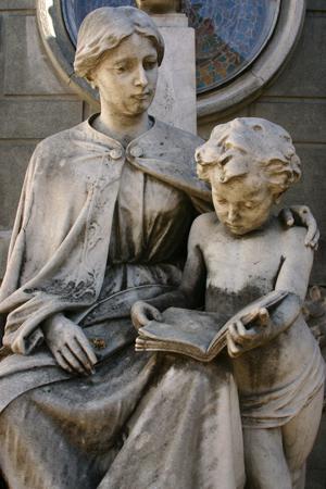 Emma Nicolay de Caprile, Recoleta Cemetery
