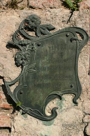 Ysidora Rodríguez de Diaz, Recoleta Cemetery