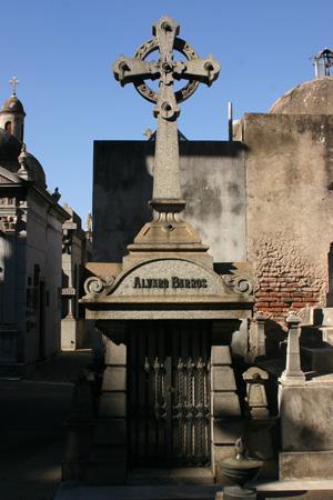 Recoleta Cemetery, Álvaro Barros