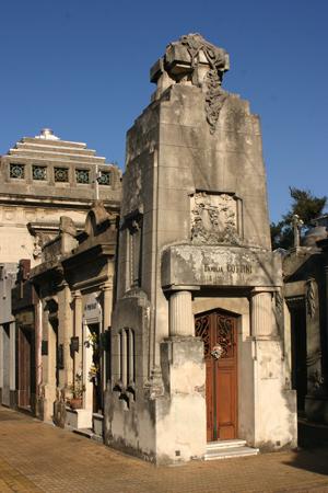 Cementerio de la Chacarita, Buenos Aires, Familia Cottini