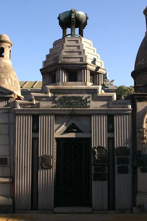 Cementerio de la Chacarita, Buenos Aires, Familia Bozzini-Morini, Art Deco