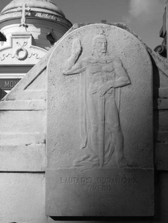 Recoleta Cemetery, Buenos Aires, Julio Vergottini plaque