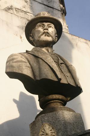 Recoleta Cemetery, Buenos Aires, bust, Méndez de Andes