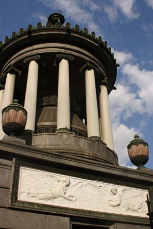 Luis Federico Leloir, Recoleta Cemetery