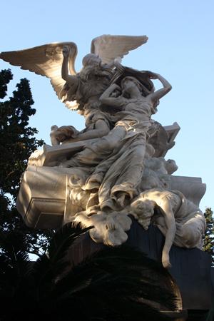 Familia José C. Paz, Recoleta Cemetery