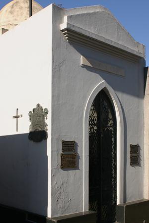 Recoleta Cemetery, Buenos Aires, Burgos y Colón, Enrique Finochietto