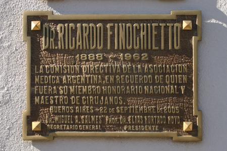 Recoleta Cemetery, Buenos Aires, Burgos y Colón, Ricardo Finochietto