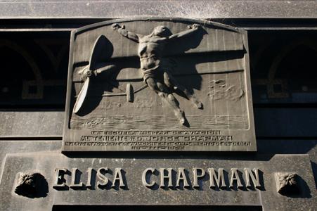 Jorge Chapman, Recoleta Cemetery