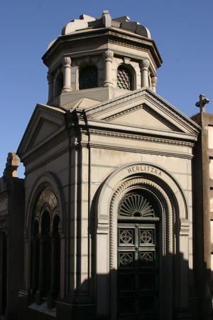 Recoleta Cemetery, Buenos Aires, Herlitzka