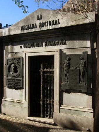 Comodoro Rivadavia, Recoleta Cemetery