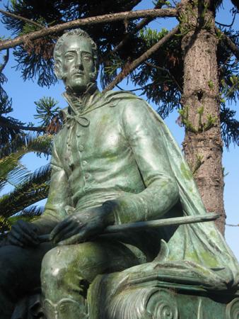 Martín Rodríguez, Recoleta Cemetery