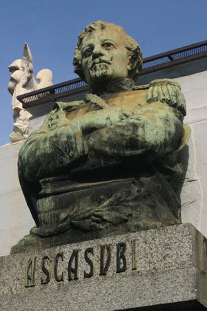 Hilario Ascasubi, Recoleta Cemetery