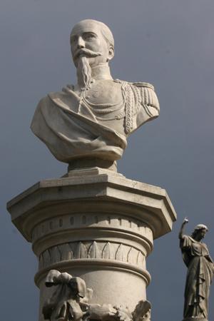 Coronel Federico de Brandsen, Recoleta Cemetery