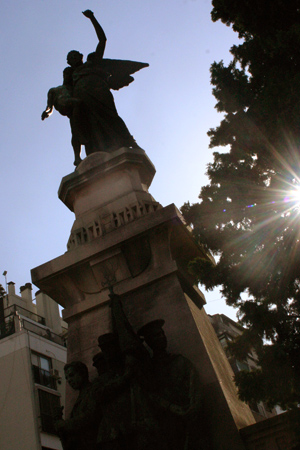 Panteón Caídos Revolución 1890, Recoleta Cemetery