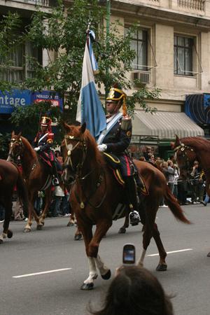 Entierro de Alfonsín, Avenida Callao