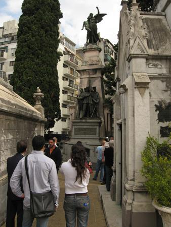 Panteón UCR, Recoleta Cemetery