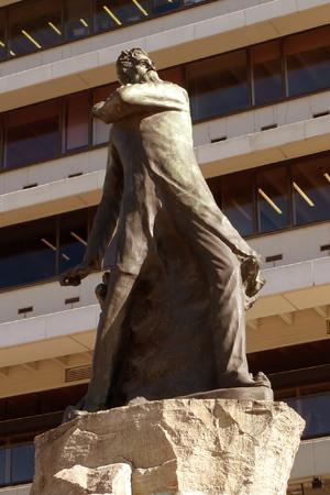 Leandro Alem statue, Pedro Zonza Briano