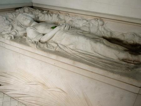 Luz María García Velloso, Recoleta Cemetery