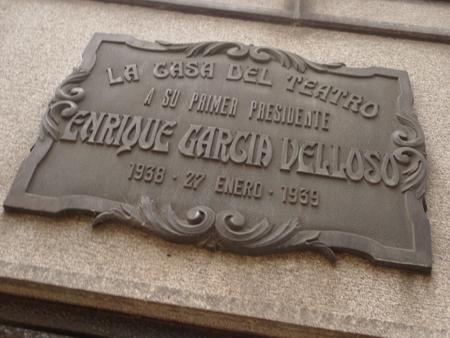 Enrique García Velloso, Recoleta Cemetery