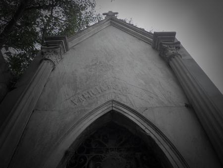 Familia del Valle, Recoleta Cemetery