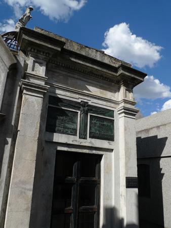 Familia Noel, Recoleta Cemetery