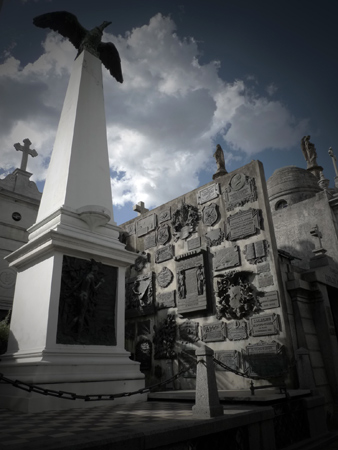 Domingo Faustino Sarmiento, Recoleta Cemetery