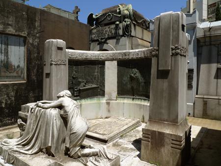 Recoleta Cemetery, Buenos Aires, Marco Avellaneda, Art Nouveau