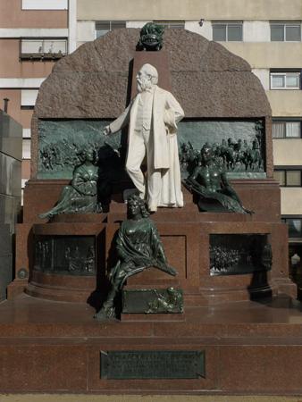 Adolfo Alsina, Recoleta Cemetery