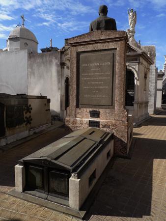 Recoleta Cemetery, Buenos Aires, José Figueroa Alcorta