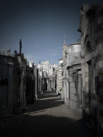 Vista, Recoleta Cemetery