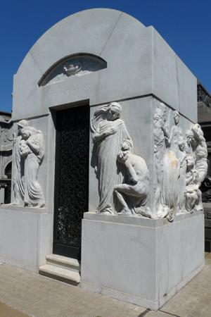 Buenos Aires, Recoleta Cemetery, Atilio Massone