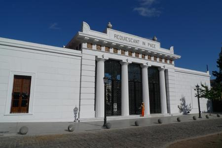 Main entrance gate, Recoleta Cemetery