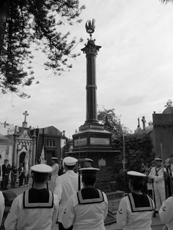 Buenos Aires, Recoleta Cemetery, Guillermo Brown