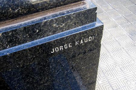 Buenos Aires, Recoleta Cemetery, J. Rodolfo Bernasconi, Jorge Kaudi