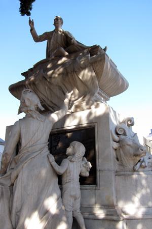 Buenos Aires, Recoleta Cemetery, Carlos Pellegrini